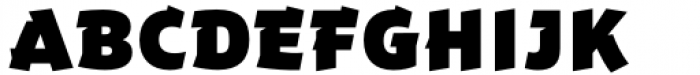 Dare Black Font UPPERCASE