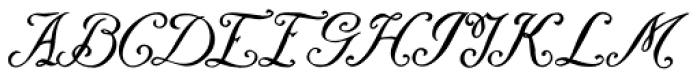 Daresiel Font UPPERCASE