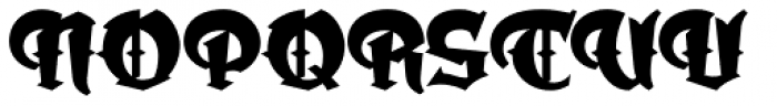 Dark Angel Font UPPERCASE