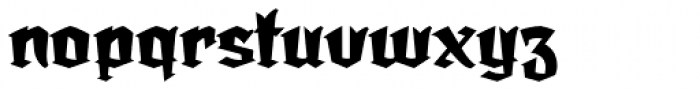 Dark Angel Font LOWERCASE