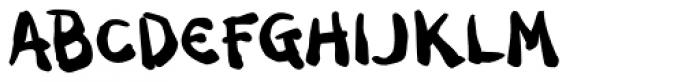 Dark Half BTN Bold Font UPPERCASE