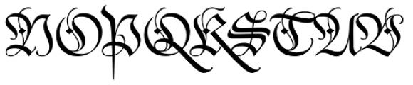 Darka Regular Font UPPERCASE