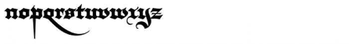 Darka Regular Font LOWERCASE