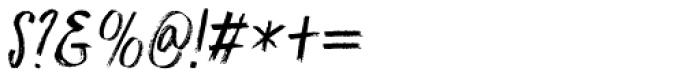 Darker Marker Italic Font OTHER CHARS