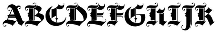 Darkstone Font UPPERCASE