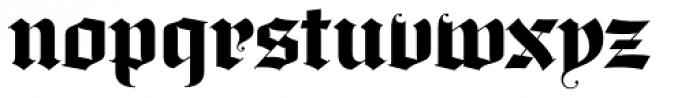 Darkstone Font LOWERCASE
