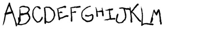 Darlin BTN Font UPPERCASE
