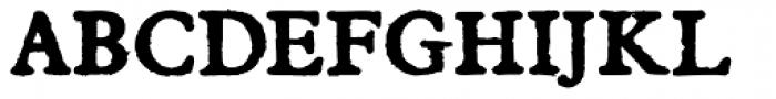 Darnalls Clean Bold Font UPPERCASE