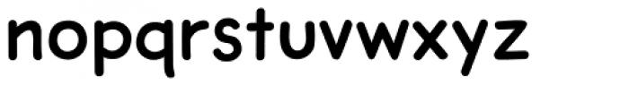 Dash Decent Regular Font LOWERCASE