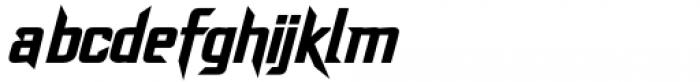 Dash Horizon Stripe Regular Font LOWERCASE