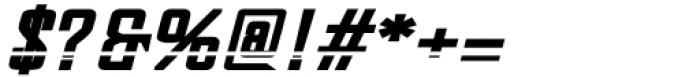 Dash Horizon Stripe Stripe Font OTHER CHARS