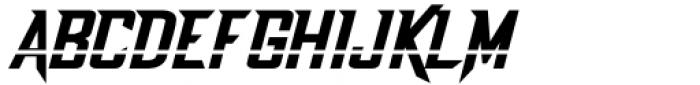 Dash Horizon Stripe Stripe Font UPPERCASE
