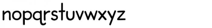 Dash To School Regular Font LOWERCASE