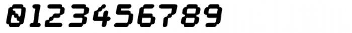 Datum Overload Slant Font OTHER CHARS