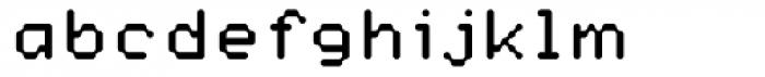 Datum Regular Font LOWERCASE