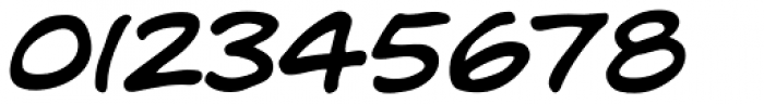Dave Gibbons Bold Italic Font OTHER CHARS