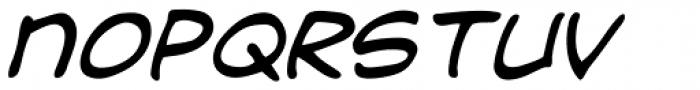 Dave Gibbons Journal Italic Font UPPERCASE