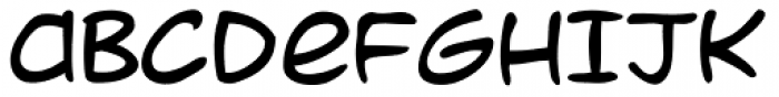 Dave Gibbons Journal Font LOWERCASE
