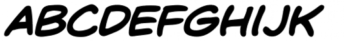 Dave Gibbons Lower Bold Italic Font UPPERCASE