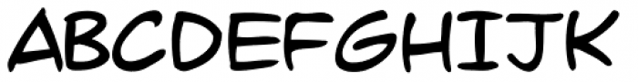 Dave Gibbons Font UPPERCASE