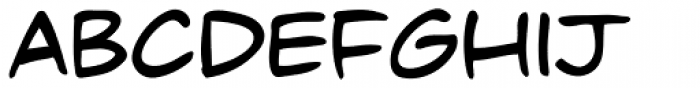 Dave Gibbons Font LOWERCASE