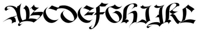 David Aubert Font UPPERCASE