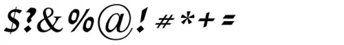 David MF Bold Italic Font OTHER CHARS