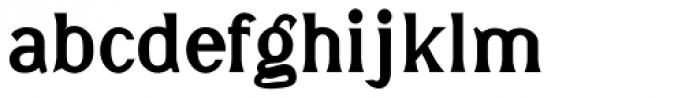 DavidFarewell Bold Font LOWERCASE