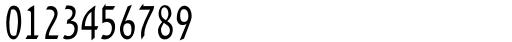 DavidMF Condensed Pro Font OTHER CHARS