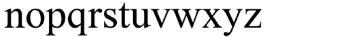 DavidMF Regular Pro Font LOWERCASE