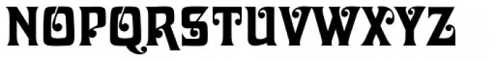 Davida EF Font UPPERCASE