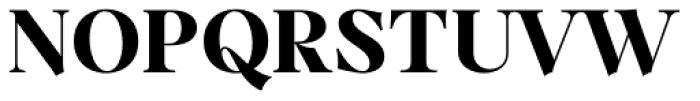 Dawnora Bold Font UPPERCASE