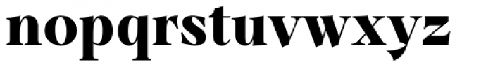 Dawnora Bold Font LOWERCASE