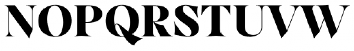 Dawnora Headline Bold Font UPPERCASE