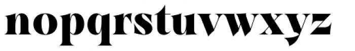 Dawnora Headline Bold Font LOWERCASE
