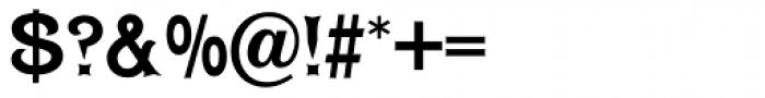 Dawson Font OTHER CHARS