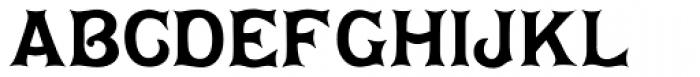 Dawson Font UPPERCASE
