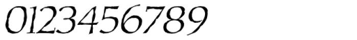 Daybreak Lx Italic Font OTHER CHARS