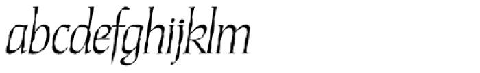 Daybreak Lx Italic Font LOWERCASE