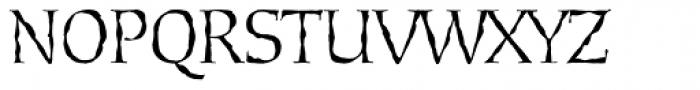 Daybreak Sx Regular Font UPPERCASE