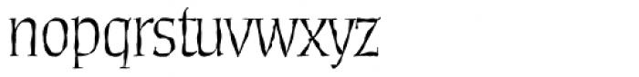 Daybreak Sx Regular Font LOWERCASE