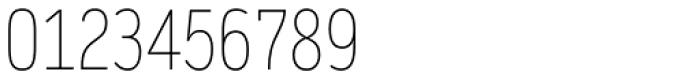 Daytona Pro Condensed Thin Font OTHER CHARS