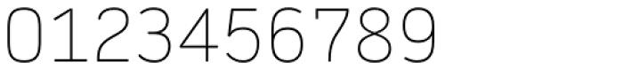 Daytona Pro Thin Font OTHER CHARS