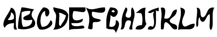 DBE-Arcturus Font UPPERCASE