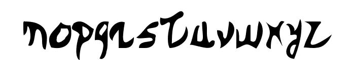 DBE-Arcturus Font LOWERCASE
