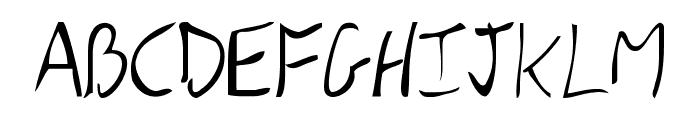 DBE-Rigil Kentaurus Font UPPERCASE