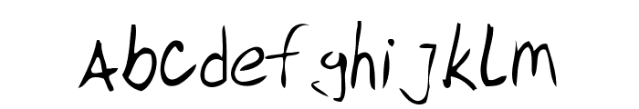 DBE-Sirius Font LOWERCASE