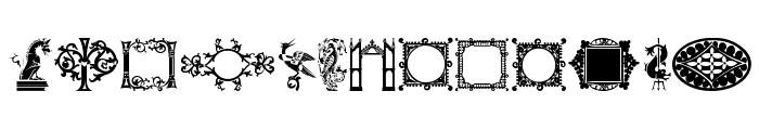DBL MedievalDesign Font UPPERCASE