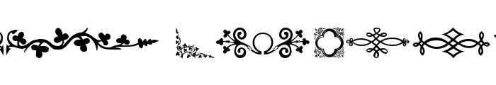 DBL MedievalDesign Font LOWERCASE