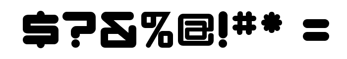 DBXLNightfever ExtraWide Font OTHER CHARS